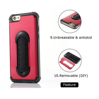 Customize car accessory with stand phone hard plastic case cove for iphone