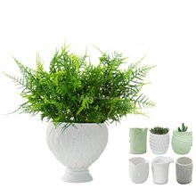 Top Quality Desktop White Cute Flower Pot Bud Vase for Succulent Plant