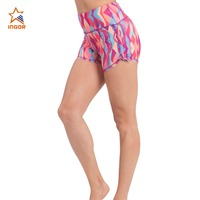 bamboo fibre fabric wears customized prints organic cotton short