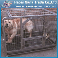metal wire pet crate / iron dog crate
