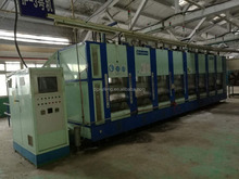 Used/Second hand EVA shoes machine slipper & sandals making machine