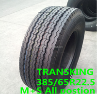 E-Mark Radial 315 385 65 22.5 Heavy Duty Truck Tires, Chinese Manufacturer TRANSKING Tires 385/65r 22.5 315 80 r 22.5 truck tyre