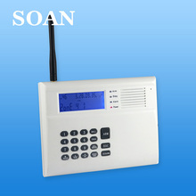 Dual network burglar alarm system gsm pstn home alarm ce fcc rohs certification battery operated security alarm system