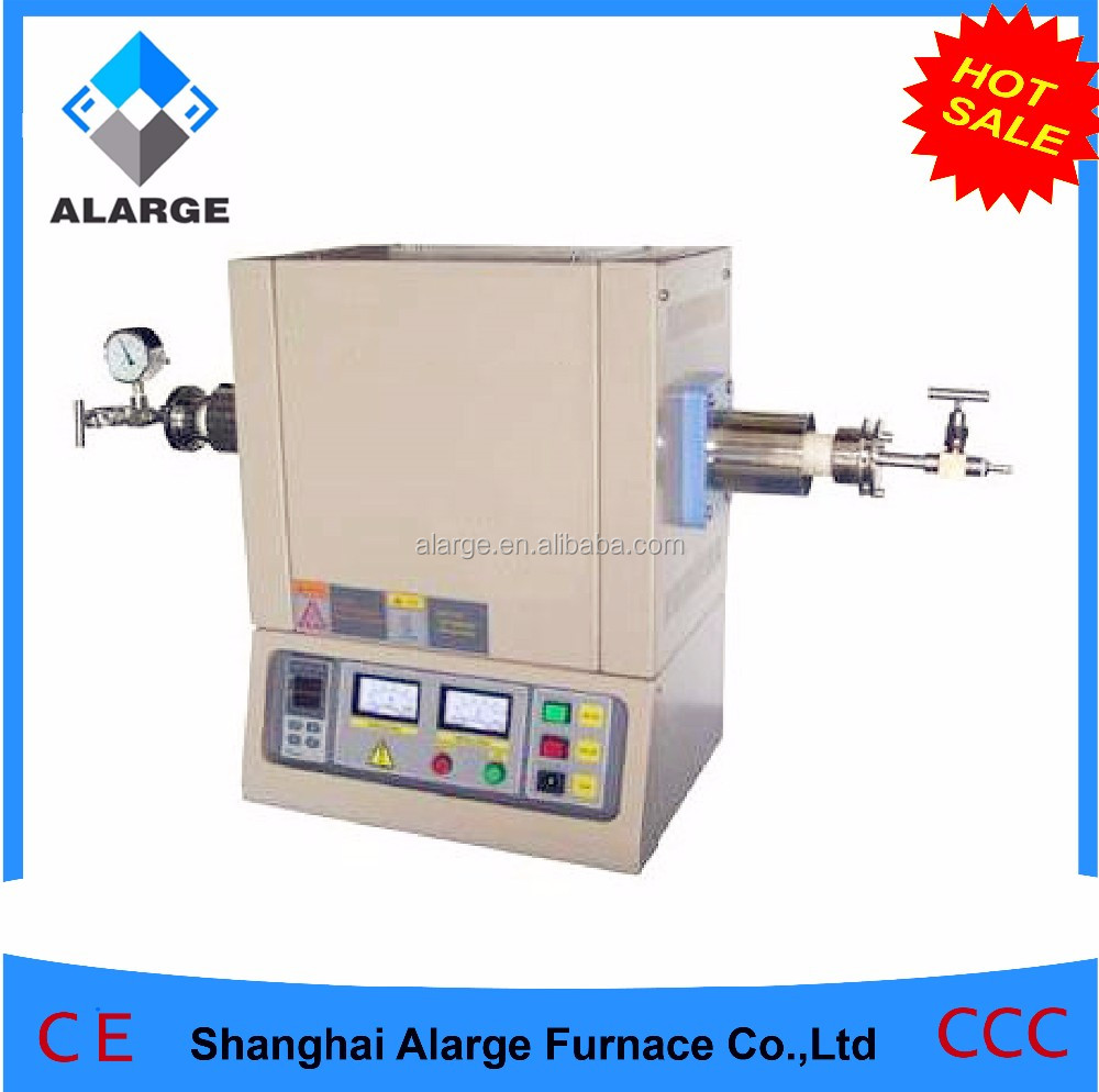 mini laboratory 1200C Horizontal High Temperature Tube Furnace