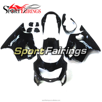 Motorcycle Injection Fairings For Honda CBR600F F4 99 00 Year 1999 2000 ABS Plastic Fairing Kit Shining Black Full Covers
