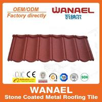 Classical durable freezing-resistant roof tile/replacement of pvc roof tile,low cost house construction material
