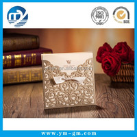 Customized Cheap Wholesale Card Wedding Invitation