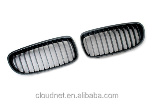 Carbon Fiber Style Sport Front Grille Replacement For BMW E60 5 Series