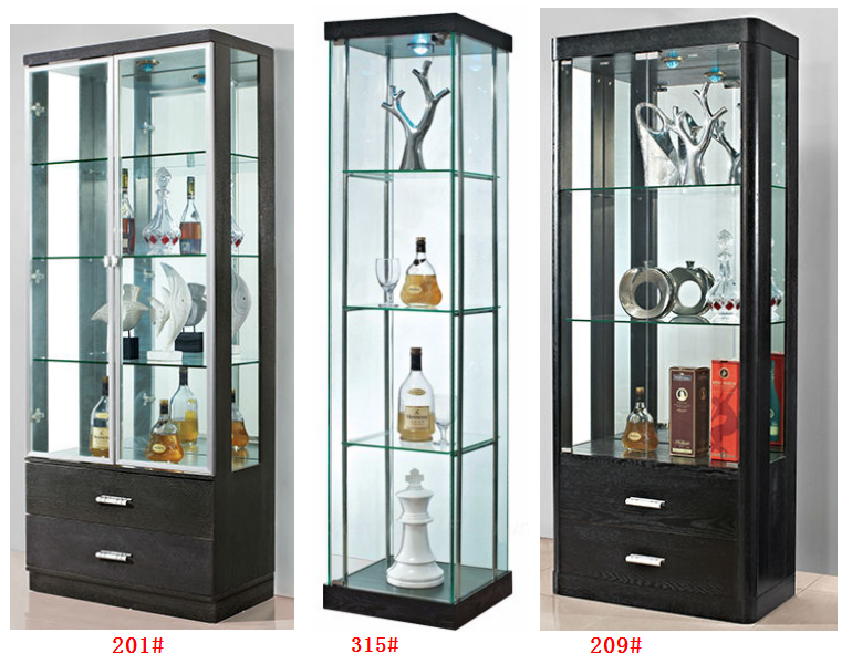 Glass Corner Display Units For Living Room Prepossessing Veneer Plywood Glass Led Display Cabinet For Jewelry View Led . Review