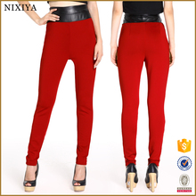 Red Pants Women Skiny Pants Sexy Long Pants for Women