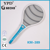 HIGH QUALITY ELECTRONIC MOSQUITO SWATTER WITH LIGHT KM-389
