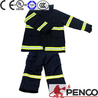 China factory price waterproof fire proof fire resistant clothing