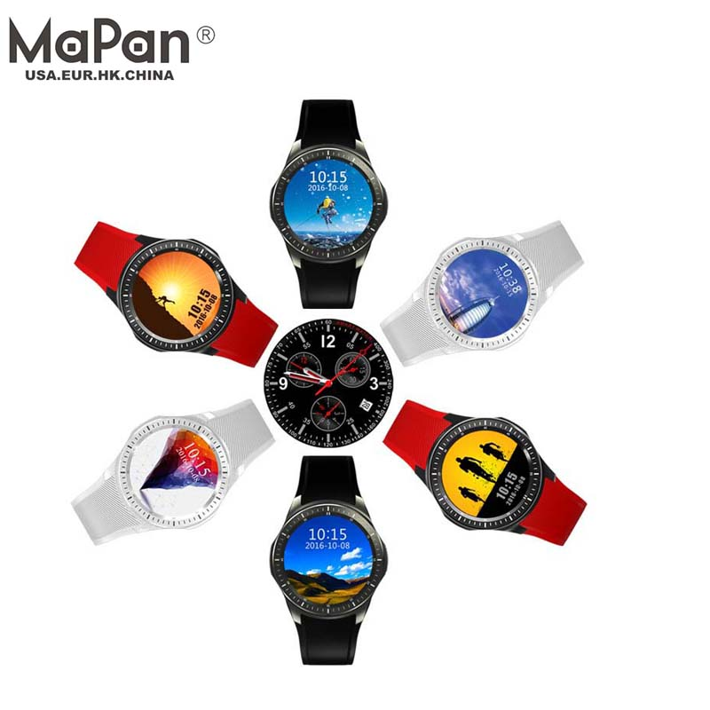 MaPan china factory 400MAh Battery Capacitive touch GSM Phone cheap smart watch