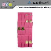 Top grade wholesale price hanging shoe organizer with pockets