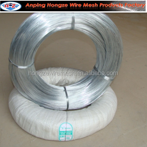 low price electro galvanized iron wire/barbed fence iron wire mesh fence