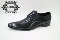shining leather dress shoes
