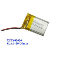 602030 300mah 20c 3.7v Toy rc helicopter battery