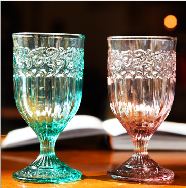 luxury wedding Elegant Crystal Wine Glass Water Goblets Red Wine Glass Cup