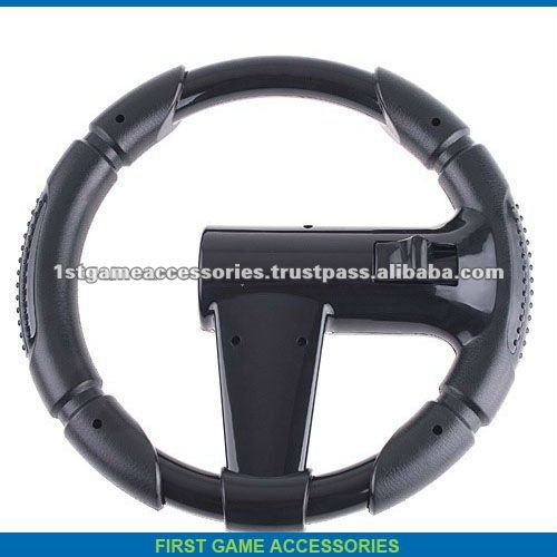 For SONY PS3 Move Game Racing Steering Wheel