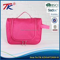 Simple design pink mini slim durable splendours ladies Wash bag