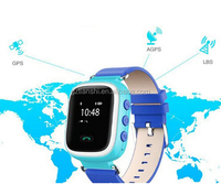 Fashionable Children smart watch phone kids GPS tracker gps tracking device for kids