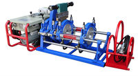 90-250mm HDPE pipe hydraulic butt fusion welding machine