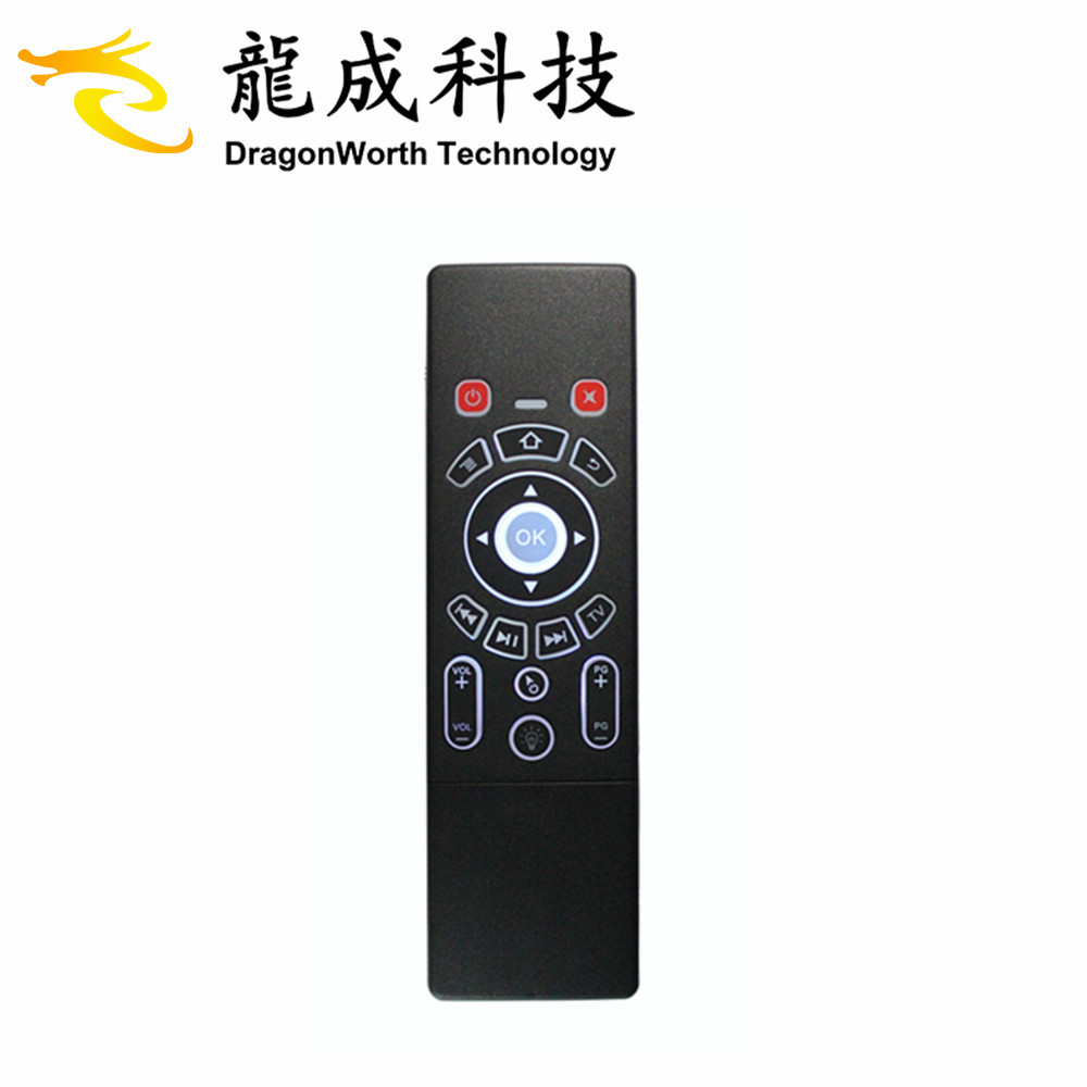 Wholesale T6 wireless smart TV remote control keyboard with air fly mouse