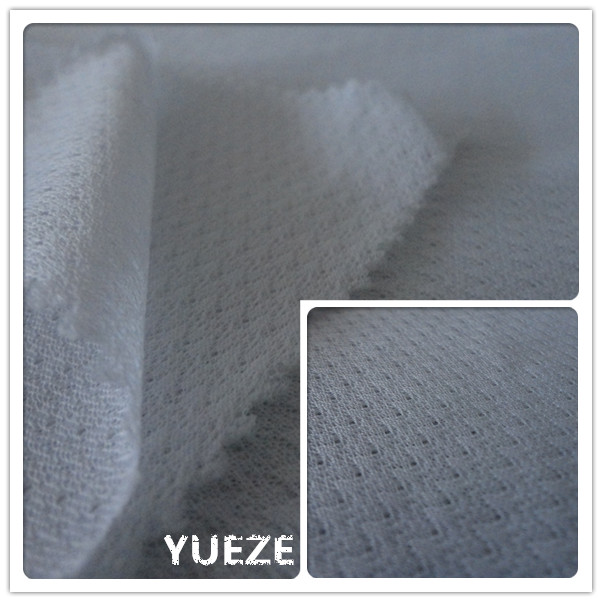 100 polyester knitted jacquard lining mesh fabric for garment