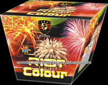 25S Fan Shape Riot Colour Cake Fireworks
