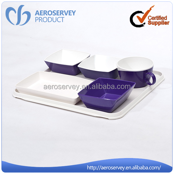 Factory wholesale cheap plastic made in poland china dinnerware