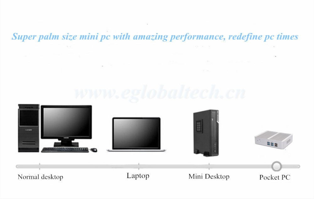 2016 new 3D Gaming PC windows7/10 with i3 5005u HD5500 Graphics Best Home Computer DC 12V 3 YR Warranty CE