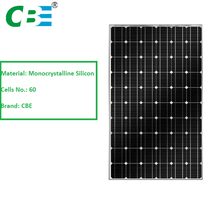 China Manufacture Monocrystalline silicon material solar panel cover glass thickness and modules