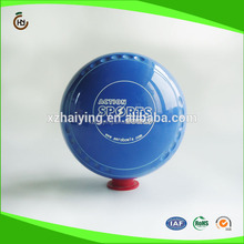 Blue melamine resin Lawn bowl with custom logo
