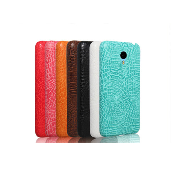 new arrival alligator pattern back cover cases for meizu m2 note