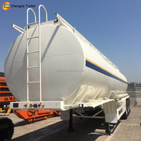 China CIMC Tanker Vessel Oil Carrier Tanker 3 axles petrol shipping tank vehicles tank trailer for sale