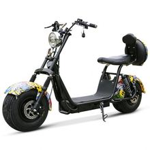 2017 dogebos 1000w60v Citycoco/seev/woqu Electric Fat Tire Scooter/YIDE Escooter/cheap E-scooter