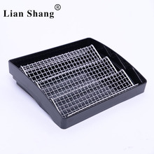 hot sale food-grade supermarket meat plastic tray in refrigerator ,plastic food tray for freshm ,meat ,fresh food tray