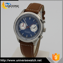 Japan movement tachymeter chronograph watch, men watches 2017