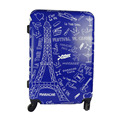 Eiffel Tower Travel Luggage ABS PC Hard Shell Spinner Luggage