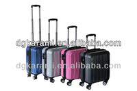 16 inch high-grade shiny pc trolley laptop bag with tsa lock