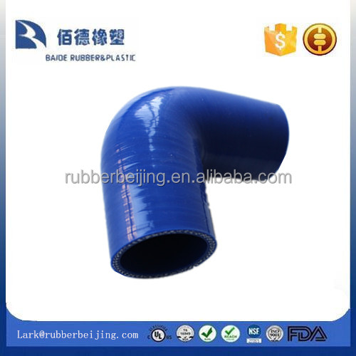 Factory price 90 Degree elbow reducer silicone hose