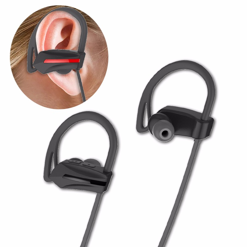 2017 OEM service SK-08 in-ear stereo bluetooth headset, bluetooth earphones for sport