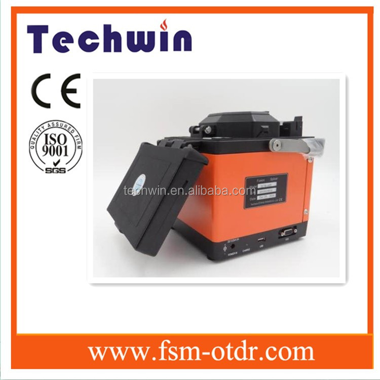 Fiber Optic Splicing Machine Mini Fiber Optics Fusion Splicer TCW605