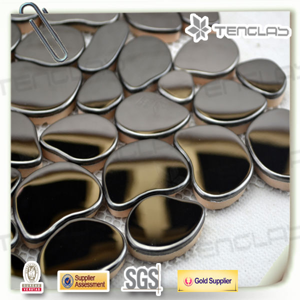 unique irregular beautiful stainless steel mosaic patterns