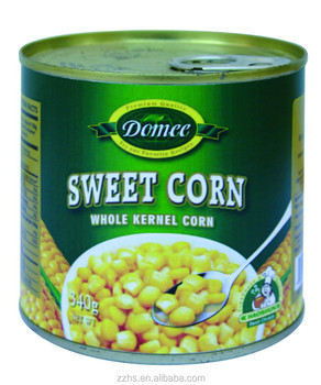 Canned Sweet Corn Canned Vegetable