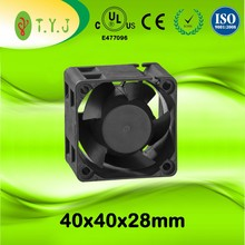 High Speed DC Fan 40x40x28mm 5V 12V DC Brushless Cooling Fan