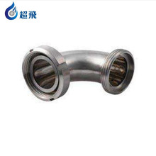 Stainless steel elbow prices SS304 sanitary pipe fitting 90 degree clamp elbow