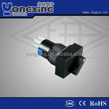 16mm standard rectangle voltage selector switch