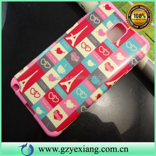 Custom Back Skin Fancy Cover For Samsung Galaxy Note 3 Case Water Transfer