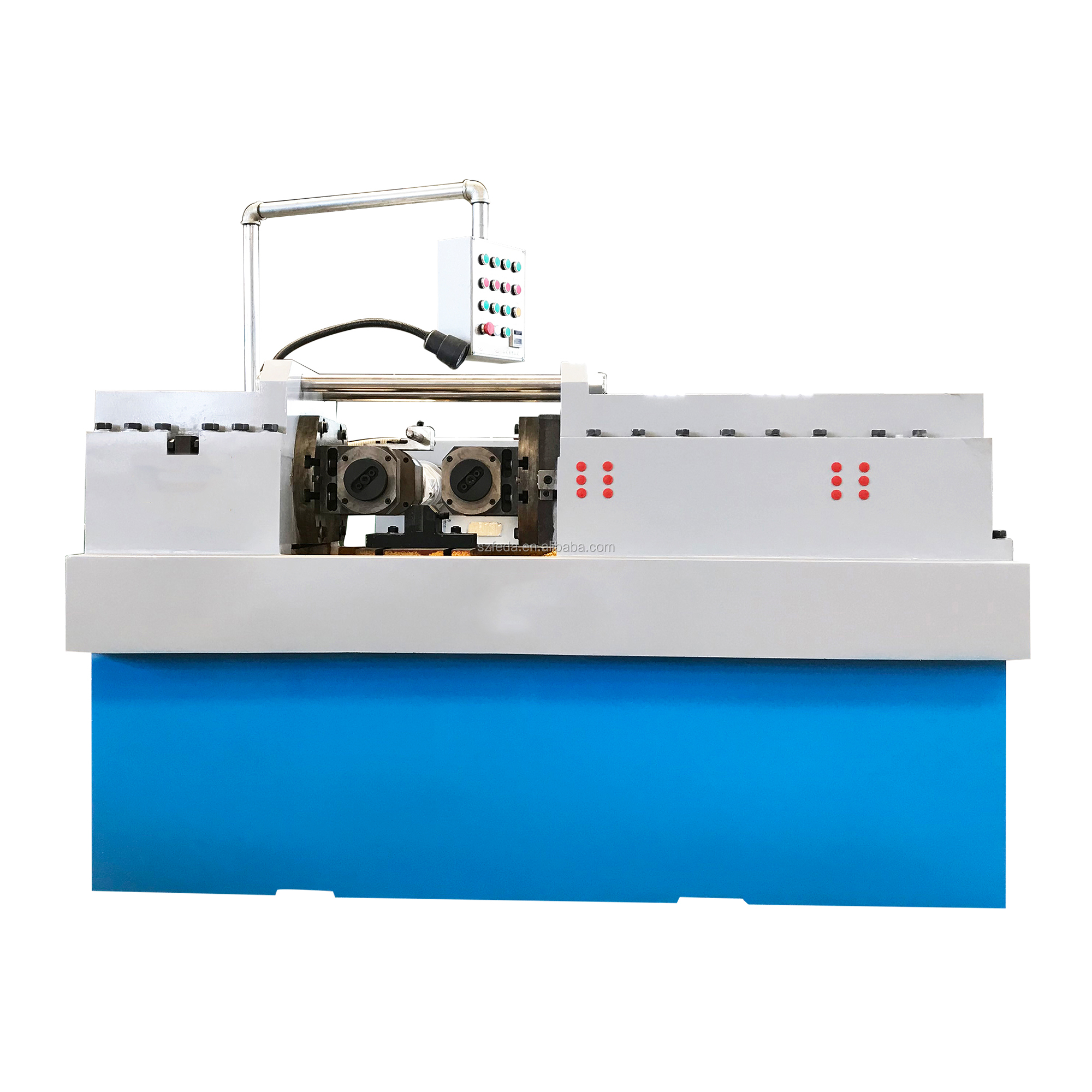 Construction tie rods thread rolling machine trapezoidal thread making machine FD-70S
